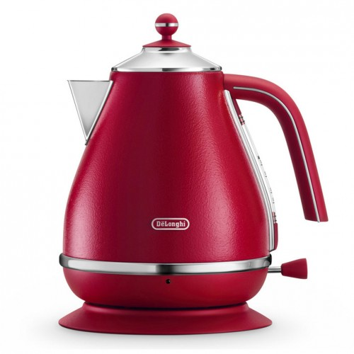 Delonghi Icona Elements Kettle Flame Red