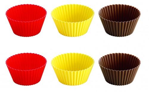 Tescoma Silicone Baking Cups 6 Pieces 9cm