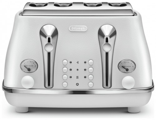 Delonghi Icona Elements 4 Slice Cloud White