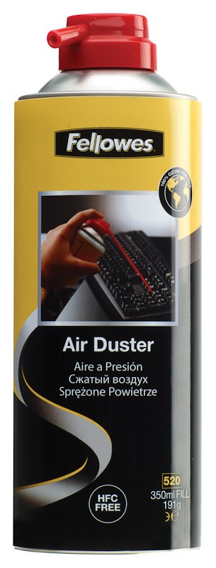 Fellowes HFC Free Invertable Air Duster Can 200ml