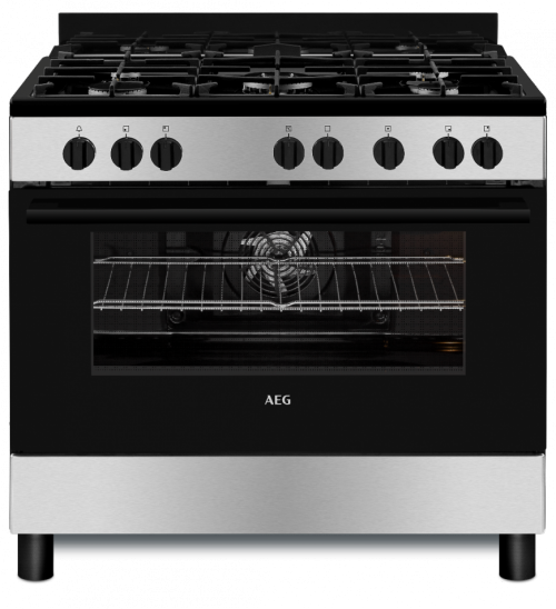 AEG CKB901A4BM 90cm Gas Electric Free-Standing Oven