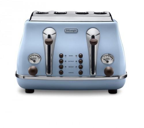 Delonghi Icona Vintage Toaster Sky Blue