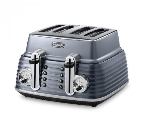 Delonghi Scultura Toaster Grey