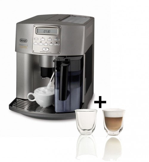 Delonghi Fully Automatic Coffee Machine Metallic