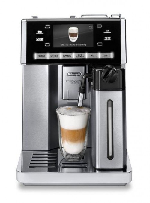 Delonghi Fully Automatic Coffee Machine Black/Silver