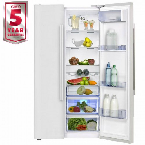 Defy 559L Side By Side Fridge