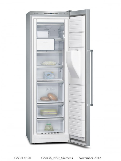 Siemens Upright Freezer With Indoor Ice Dispenser