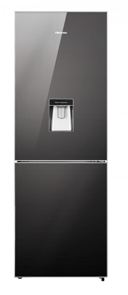 Hisense 323L Mirror Combi Fridge With Water Dispenser