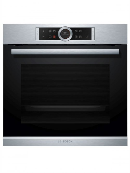 Bosch Black/Stainless Steel Eye-Level Multifunction Oven