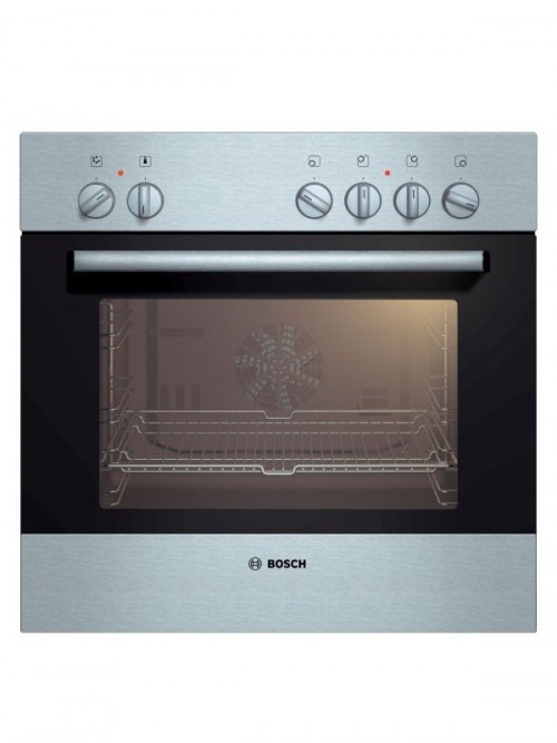 Bosch 600mm Black/Stainless Steel Under-Counter Oven
