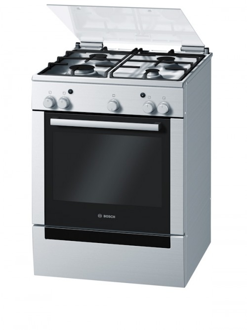 Bosch 600mm Stainless Steel Free Standing Gas Oven