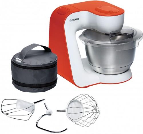 Bosch 900W White/Impulsive Orange Kitchen Machine