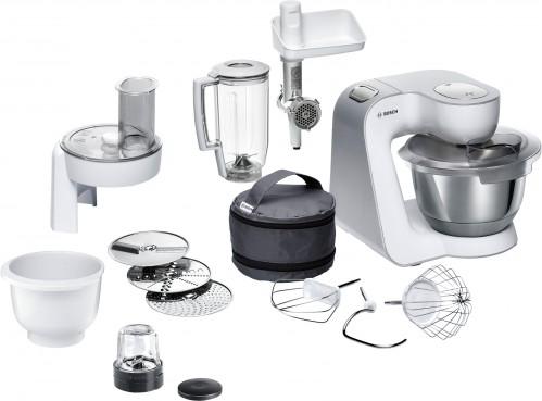 Bosch 1000W Silver/White Kitchen Machine