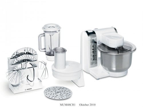 Bosch MUM48CR1 600W White Kitchen Machine