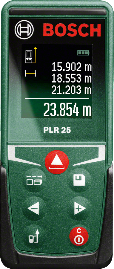 Bosch PLR 25 Range Finder