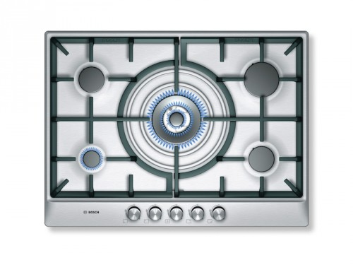 Bosch 70cm Gas Hob With Wok Burner