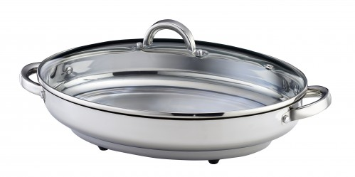 Russell Hobbs 38CM Oval Stainless Steel Roaster