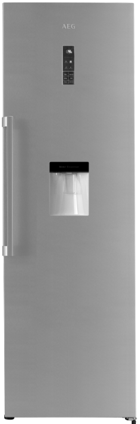 AEG RKB53911NX 355L Upright Cabinet Refrigerator with Water Dispenser