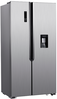 AEG RXB55211NX 514L Side by Side Refrigerator with Water Dispenser