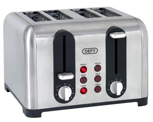 Defy TA4203S 4 Slice Stainless Steel Toaster