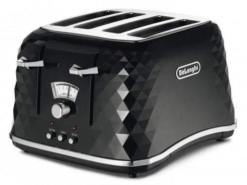 DeLonghi Brillante Toaster - Jet Black