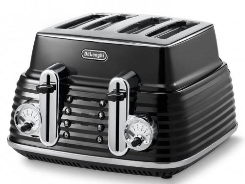 DeLonghi Scultura Toaster - Carbon Black