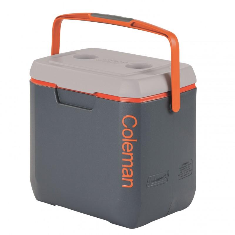 Coleman 28 Qt Xtreme Cooler Orange Grey