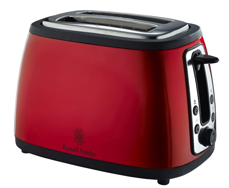 russell hobbs red heritage 2 slice toaster russell hobbs appliances. Black Bedroom Furniture Sets. Home Design Ideas