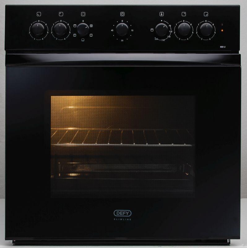 Defy 600mm Slimline Undercounter Oven Defy Appliances