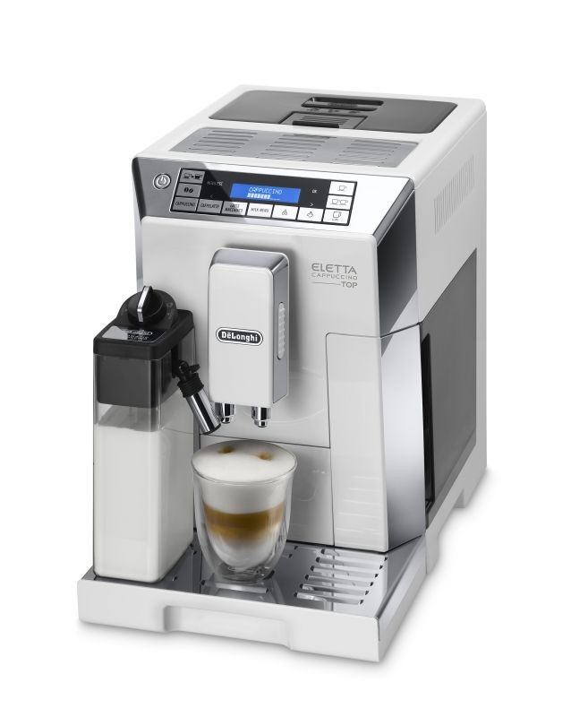 Delonghi Fully Automatic Coffee Machine White/Silver Delonghi South Africa