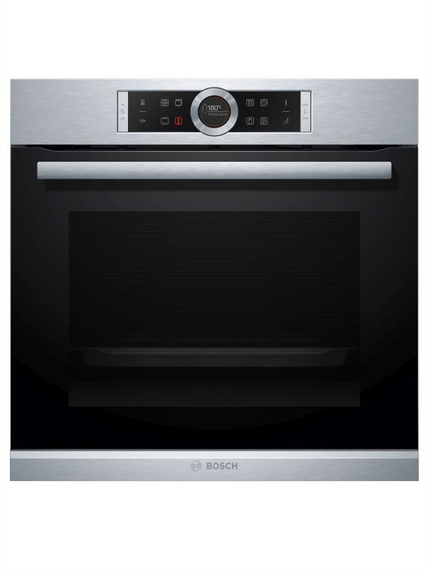 bosch black stainless steel eye level multifunction oven. Black Bedroom Furniture Sets. Home Design Ideas