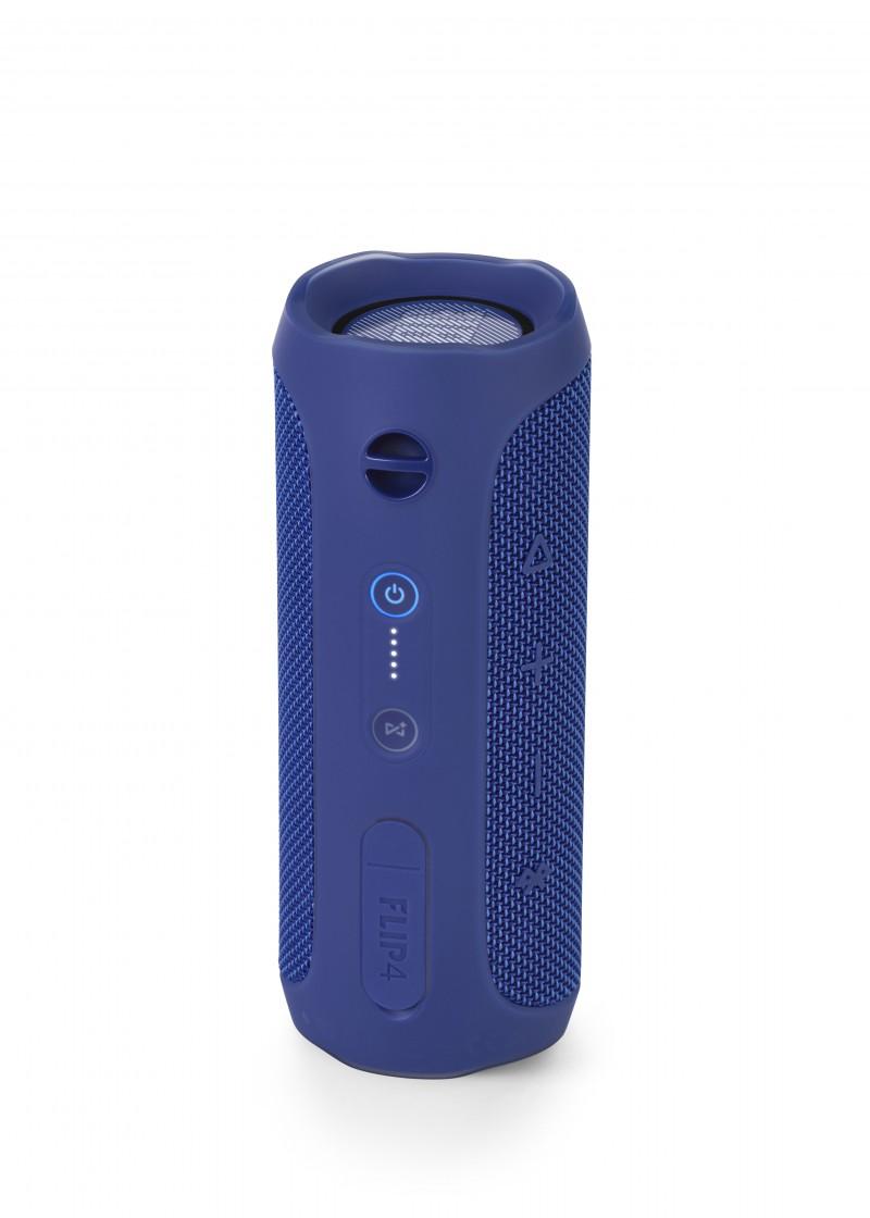 jbl flip 4 blue bluetooth speaker jbl. Black Bedroom Furniture Sets. Home Design Ideas