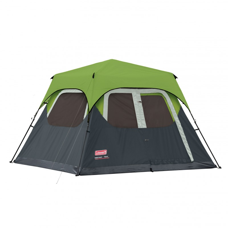 Zoom  sc 1 st  The Brand Store & Coleman Instant Tent 6 Man (10FT X 9FT) Incl Green Flysheet