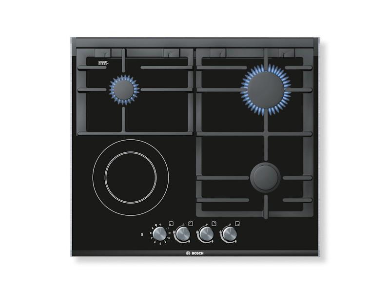 Bosch 600mm Ceramic Gas Electric Hob Bosch Appliances