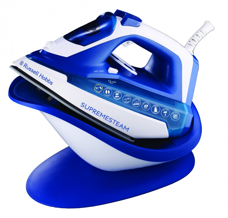 Russel Hobbs 2200w Steam Corded Amp Cordless Iron