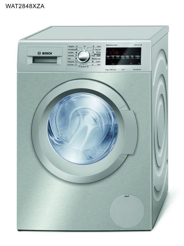 Bosch 8kg Silver Washing Machine Bosch Appliances