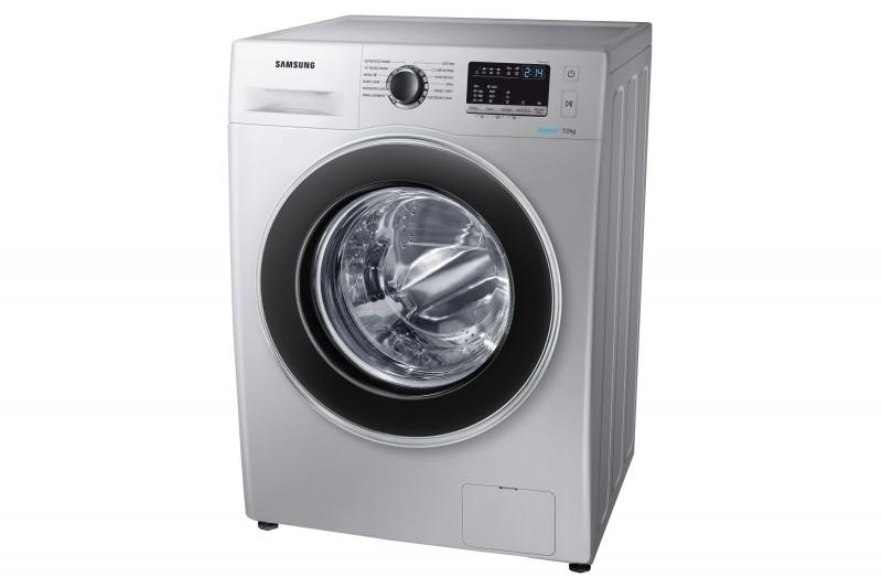 Samsung 7kg Silver Front Loader Washing Machine