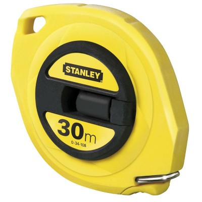Stanley 30m Steel Closed-Case Tape Measure