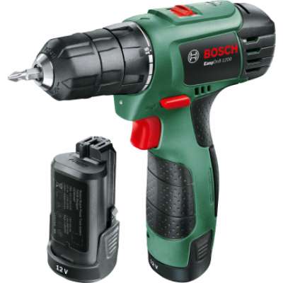 Bosch 06039A210B EasyDrill 1200 (2 battery packs)