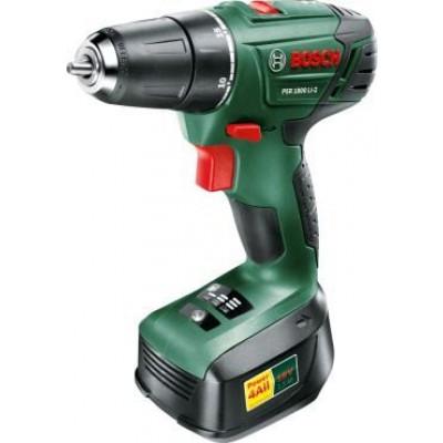 Bosch 06039A310N PSR1800 LI-2 18v 1.5Ah Cordless Drill with 15pcs X-Line