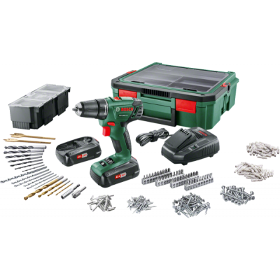 Bosch 06039A310S PSR 1800 + SystemBox Battery Operated Drill/Screwdriver