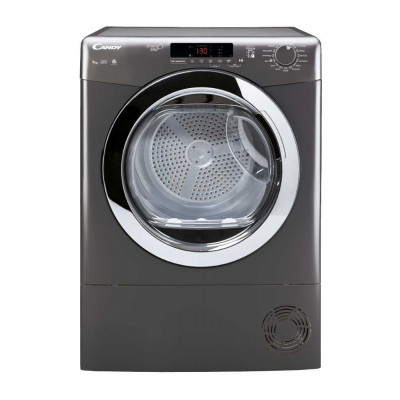 Candy 9KG GrandoVita Anthracite Tumble Dryer