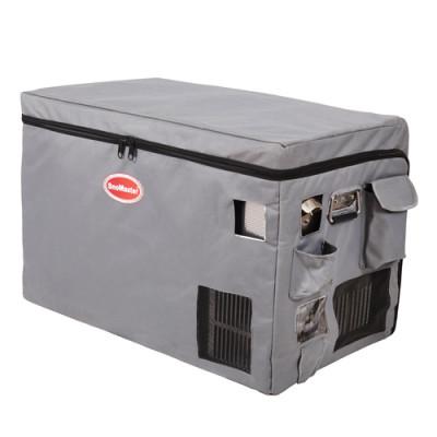 SnoMaster SMDZ-CL80 Stainless Steel Fridge Freezer