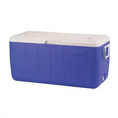 Coleman 100QT (95L) Polylite Cooler Blue