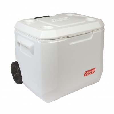 Coleman 50QT (47.3L) Extreme Marine Wheeled Cooler White