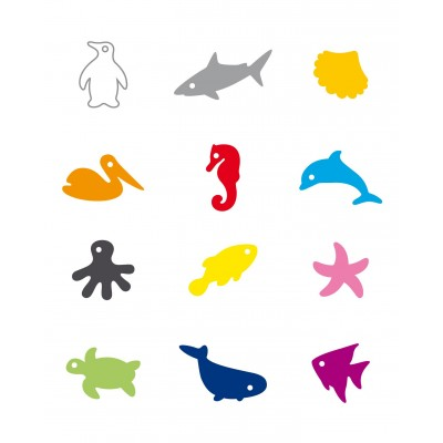 Tescoma Glass Tags 12 Pieces Ocean