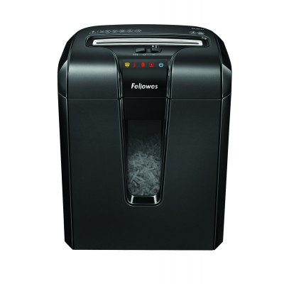 Fellowes Powershred 63Cb 10 Sheet Cross Cut Shredder with Jam Blocker Technology