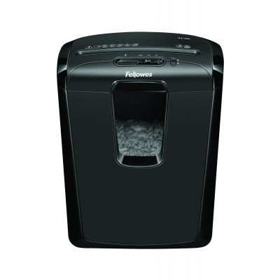 Fellowes Powershred M-8C 8 Sheet Cross Cut Shredder with SafetyLock