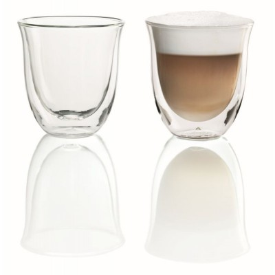 Delonghi 5513214601 Double Walled Cappuccino Glasses