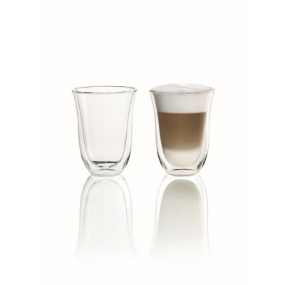 Delonghi 5513214611 Double Walled Latte Macchiato Glasses